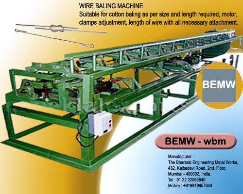 Wire Bailing Machine