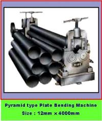 Pyramid type Plate Bending Machine - Size 12mm X 4000mm