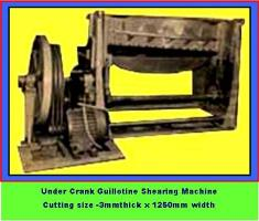 Under crank shearing - Size3mmX1250mm