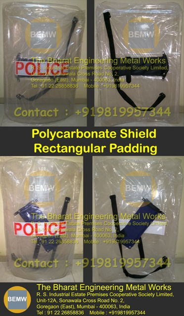 Polycarbonate Riot Control Security Shield
